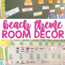 beach theme room decor