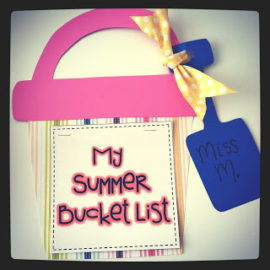 My Summer Bucket List!