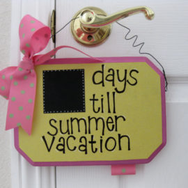 Countdown to Summer Sign