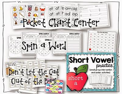 http://www.teacherspayteachers.com/Product/Short-Vowel-Practice-short-a-520799