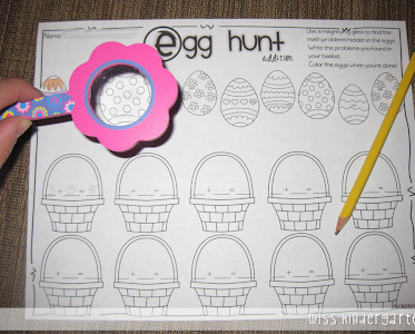 Going on an Egg Hunt {Math Style!}