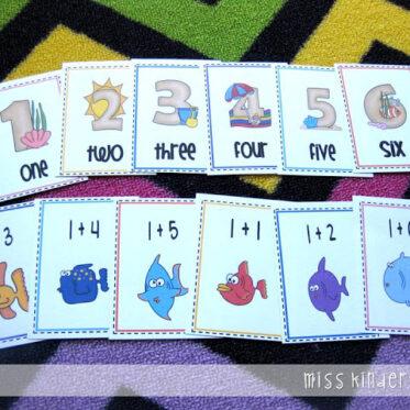 Kindergarten Math Games!