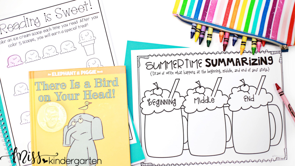 this kindergarten summer review will help parents know what to do by providing them with ideas for summer review