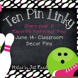 Classroom Decor Pins Linky Party!