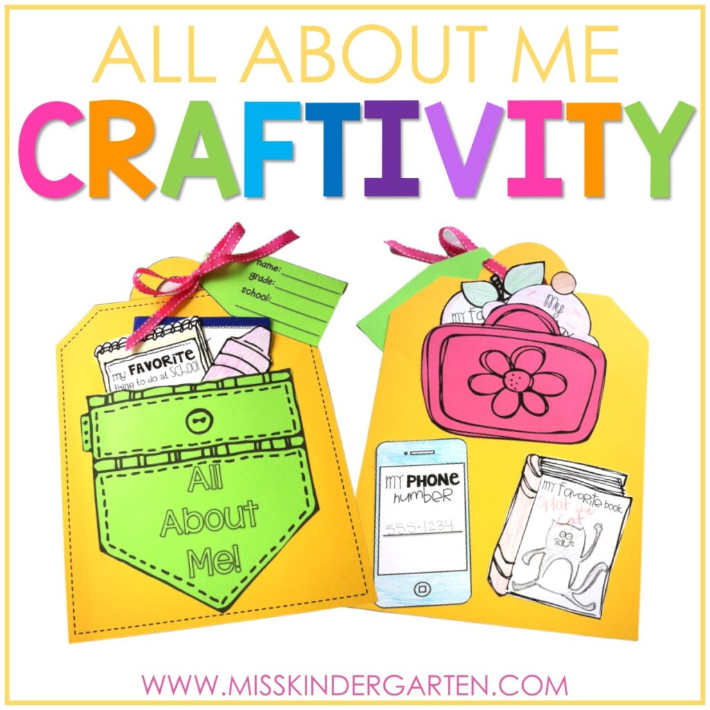 all about me craft
