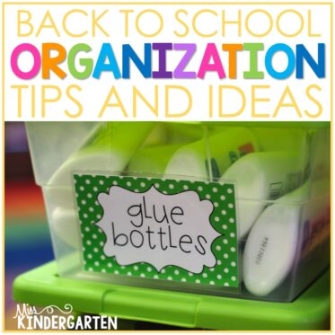 Top Two Classroom Organization Ideas for Back to School