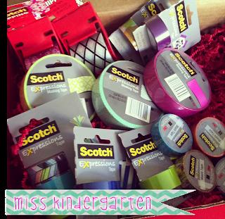Scotch Expressions Tape {organization ideas!}