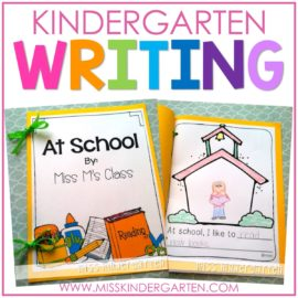 Writing in Kindergarten