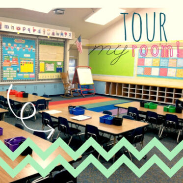What To Do The First Week of Kindergarten and Classroom Pictures