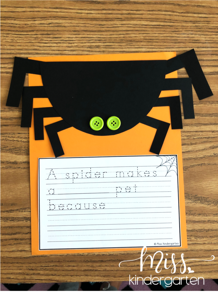 free spider craft