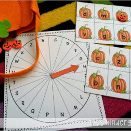 Halloween & October Games and Centers