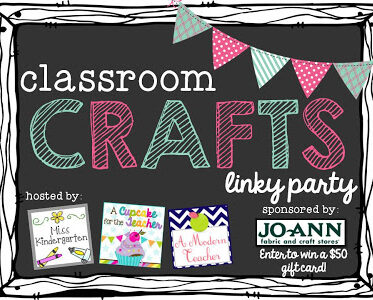 Classroom Crafts Linky Party!