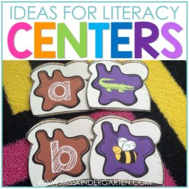 literacy center ideas