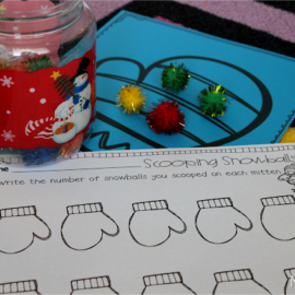 January Math and Literacy Centers {updated!}