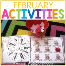 february activities for kindergarten