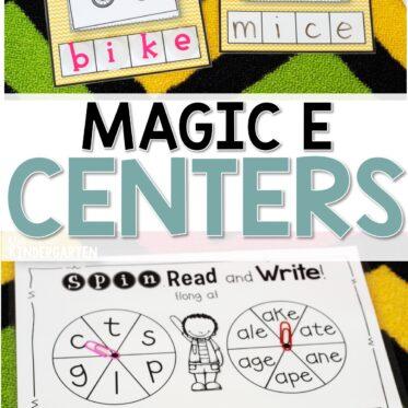 Super CVCe Practice {that tricky magic e!}