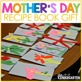 mothers day gift kindergarten