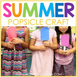 Summer Popsicle Craft