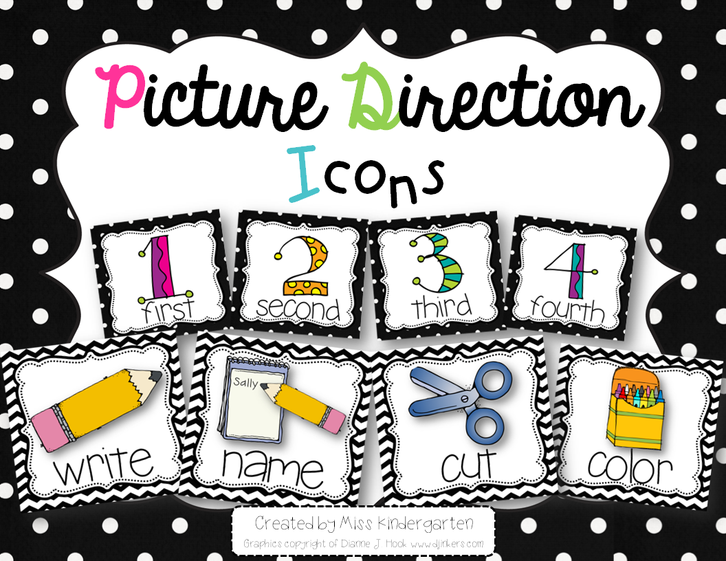 http://www.teacherspayteachers.com/Product/Picture-Direction-Icons-black-and-white-background-1305661