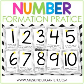 Free Number Formation Rhymes