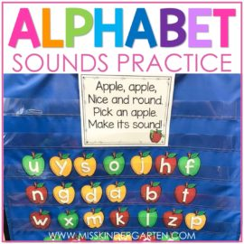 alphabet sounds practice