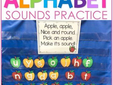 alphabet sounds practice