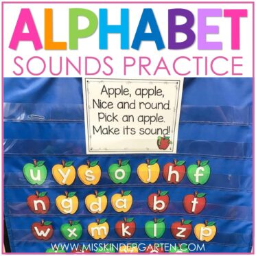 Alphabet Sounds Practice Poems