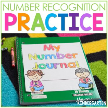 Number Practice in Kindergarten