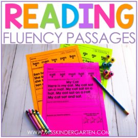 reading fluency passages