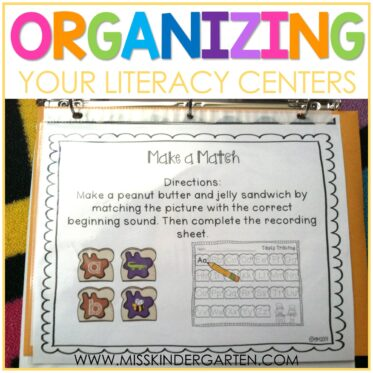 4 Things you Need for Organizing Centers in the Classroom