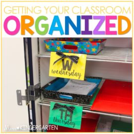 Utilizing Color for Classroom Organization