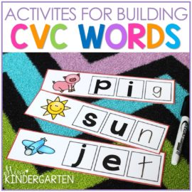 Building CVC Words Activities