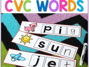 building cvc words