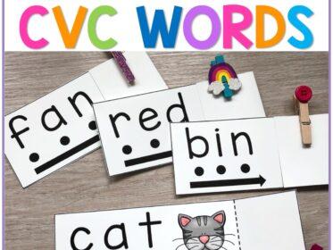 reading cvc words