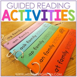 Guided Reading Activities & Intervention Strategies