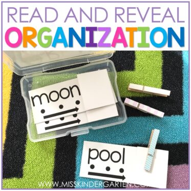 Read and Reveal Organization Labels