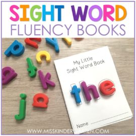 Sight Word Fluency Booklets