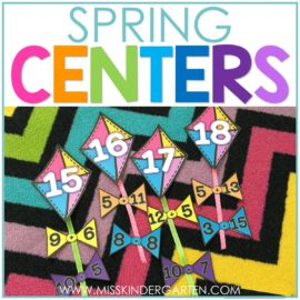spring centers first grade