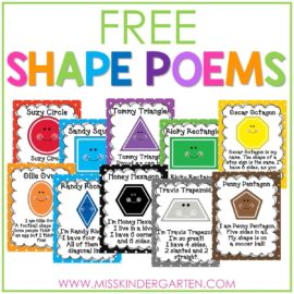 shape poems