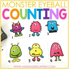 Fun Halloween Counting Mats