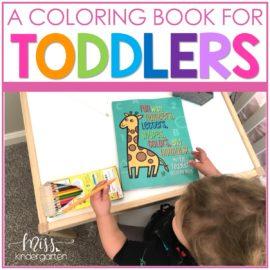 A Fun Toddler Coloring Book