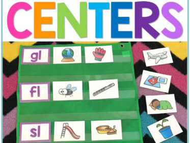 blends and digraphs centers