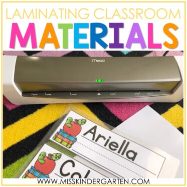 Laminating Classroom Materials with Mead