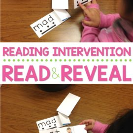 Learning to read CVC words