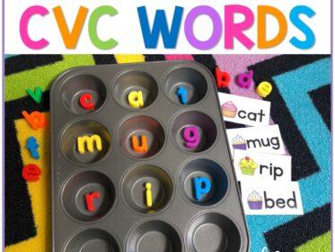 how to teach a cvc word