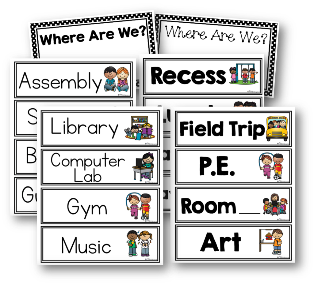 Kindergarten First Day of School Activities