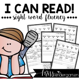 sight word fluency practice