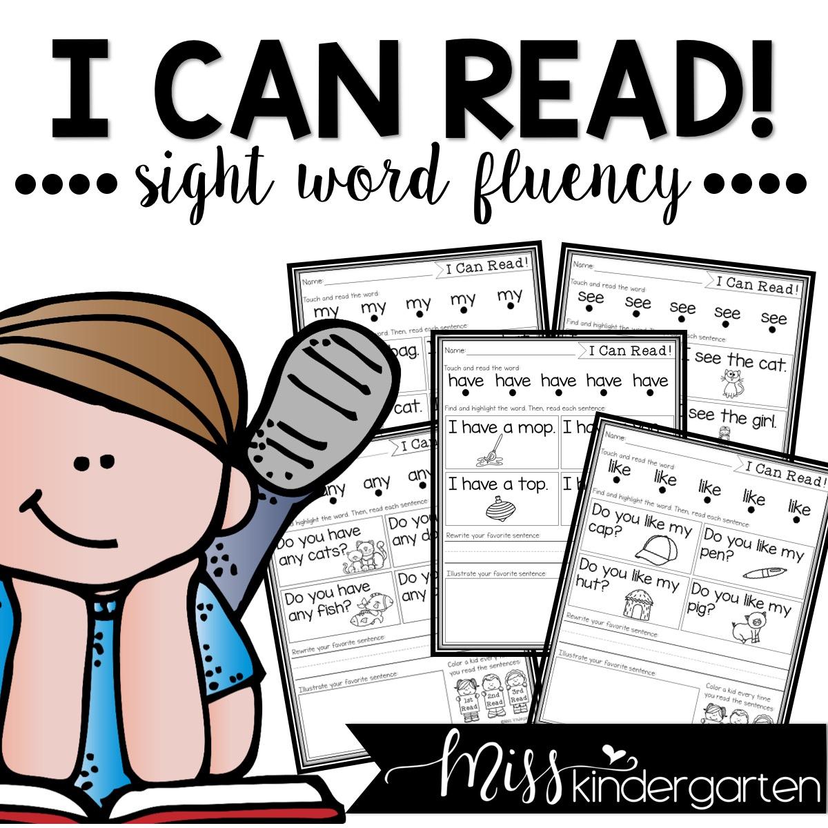 sight word fluency practice