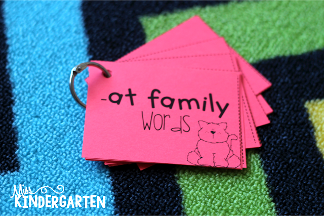 at family words printed on colored paper