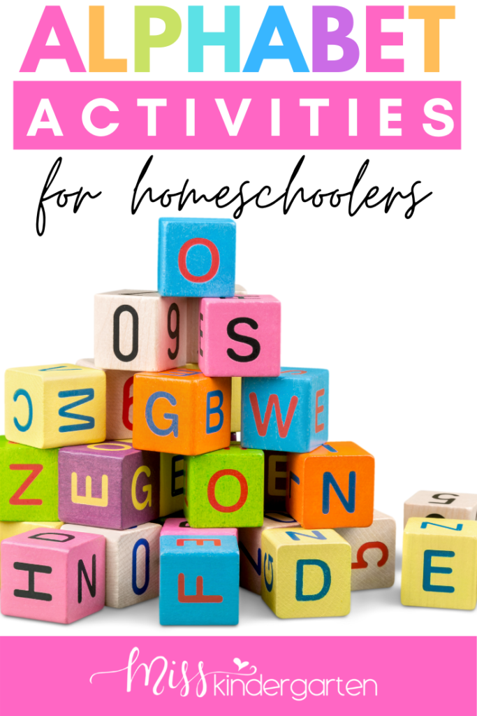 How To Teach The Alphabet Miss Kindergarten